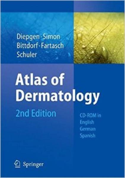 Atlas of Dermatology: DVD in English, German, Sp