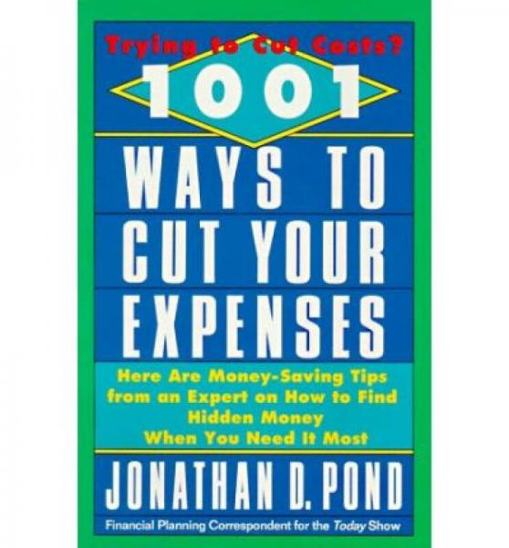 1001 Ways to Cut Your Expenses  Here Are Money-S