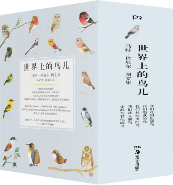 世界上的鸟儿:马特·休厄尔图文集(套装全5册)