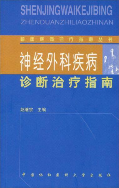 临床疾病诊疗指南丛书:神经外科疾病诊断治疗指南