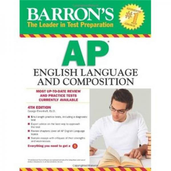 Barrons AP English Language and Composition, 4th Edition