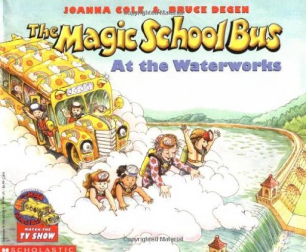 The Magic School Bus at the Waterworks  神奇校车系列:水的故事 英文原版