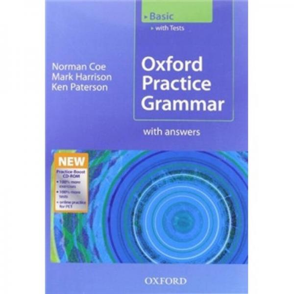 Oxford Practice Grammar Basic with Key and Practice-Boost (Book+CD)
