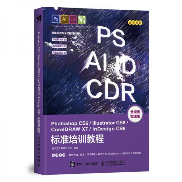 PhotoshopCS6/IllustratorCS6/CorelDRAWX7/InDes