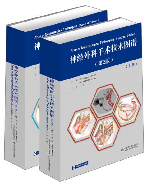 神经外科手术技术图谱(第2版套装共2册)