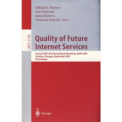 未来因特网服务的品质Quality of Future Internet Services