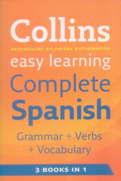 Collins Easy Learning Complete Spanish Dictionary (Spanish and English Edition)