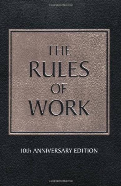 The Rules of Work 职场法则