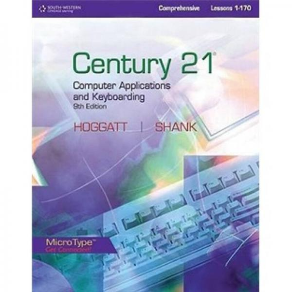 Century 21 Computer Applications and Keyboarding Lessons 1-170