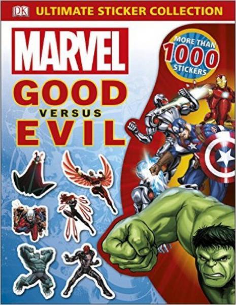 Marvel Good Versus Evil Ultimate Sticker Collect