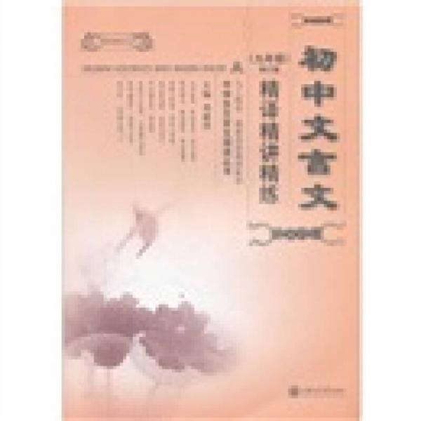 中学生文言文阅读丛书:初中文言文精译精讲精练(9年级)