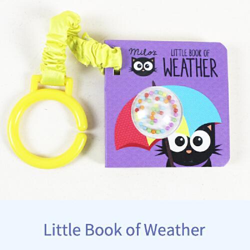 英文原版Milos Little Book Of Weather