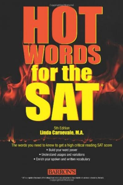 Barrons Hot Words for the SAT, 5th Edition
