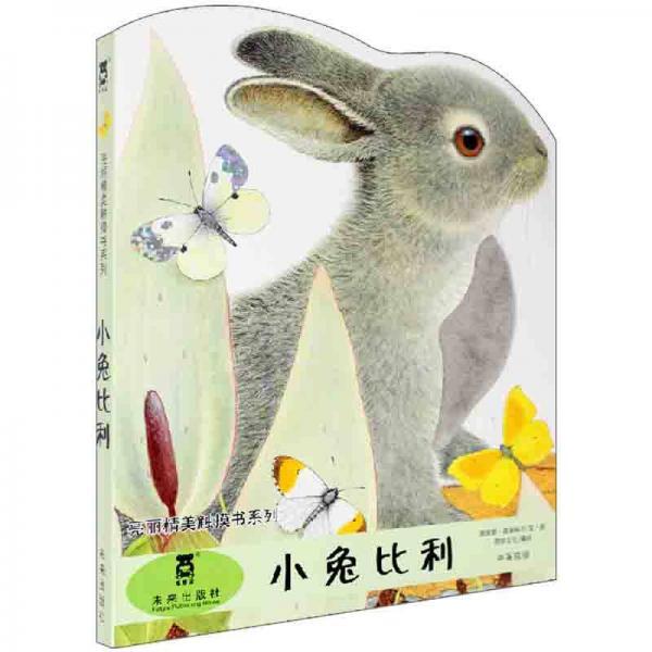 亮丽精美触摸书:小兔比利(中英双语)