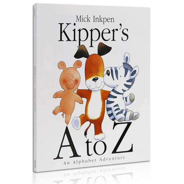 Kippers A to Z an Alphabet Adventure  卡皮的字母冒险 英文原版