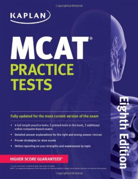 MCAT Practice Tests (Kaplan Mcat Practice Tests)