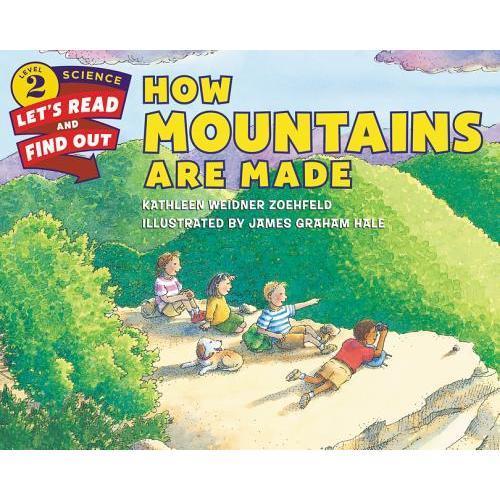 【预订】How Mountains Are Made