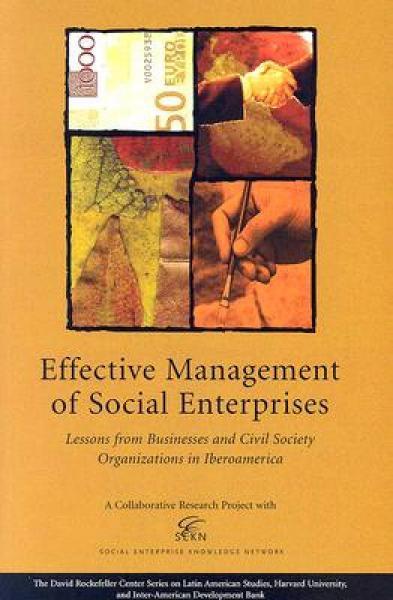 Effective Management of Social Enterprises: Less
