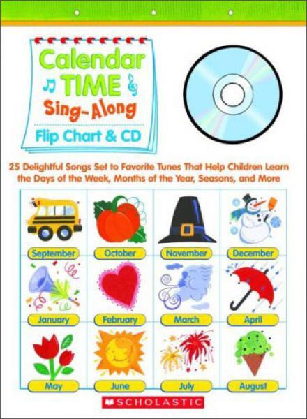 Sing-Along Flip Chart and CD: Calendar Time