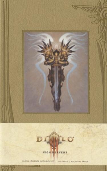 DiabloHighHeavensHardcoverBlankJournal(Large)《暗黑破坏神3:至高天堂》硬皮笔记本,空白页