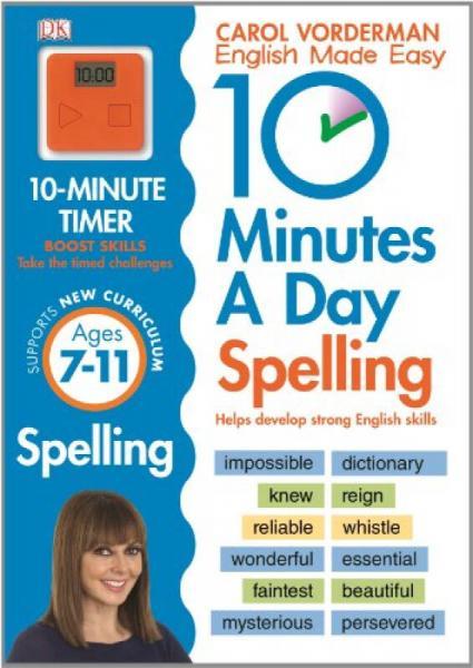 10 Minutes A Day Spelling KS2[每天十分钟:拼写 KS2]