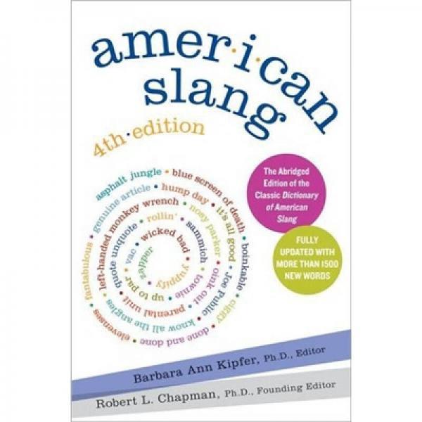American Slang 美国俚语