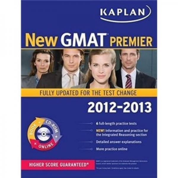 Kaplan New GMAT Premier w/ CD (Kaplan Gmat Premier Live)
