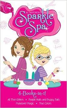 SparkleSpa4-Books-In-1!:AllThatGlitters;Pu