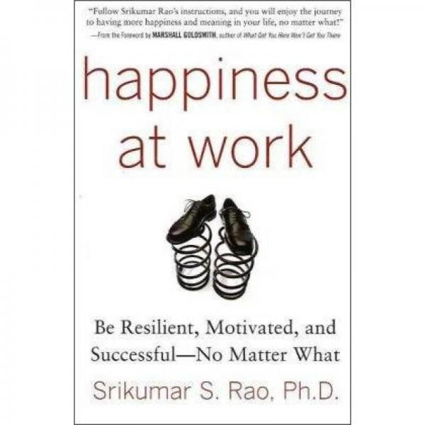 Happiness at Work: Be Resilient Motivated and Successful - No Matter What[幸福工作]