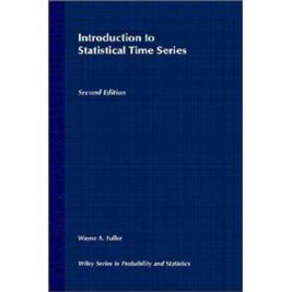 Introduction to Statistical Time Series