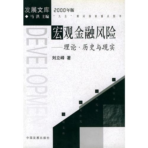 宏观金融风险:理论·历史与现实(2000年版)