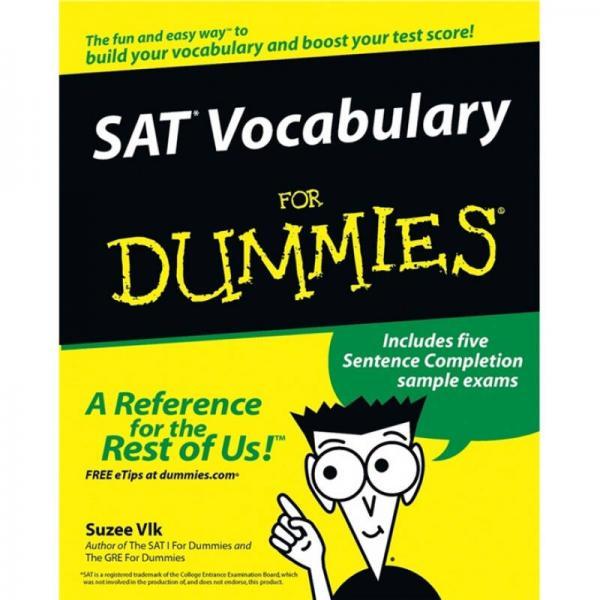 SAT Vocabulary for Dummies  傻瓜书-SAT考试词汇
