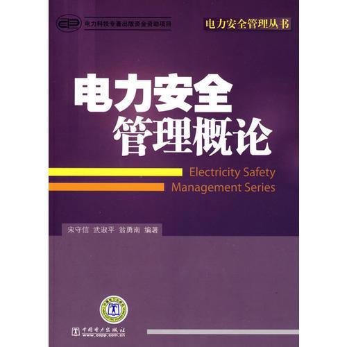 电力安全管理丛书 电力安全管理概论