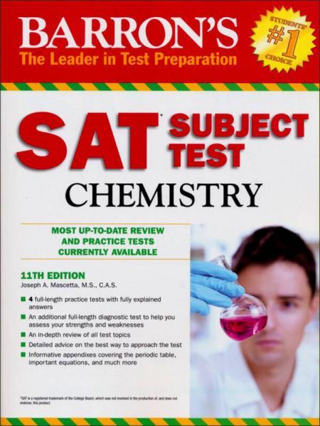 Barrons SAT Subject Test Chemistry, 11th Edition