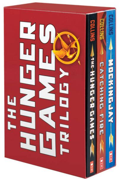 The Hunger Games Trilogy Box Set : Paperback Classic Collection 英文原版