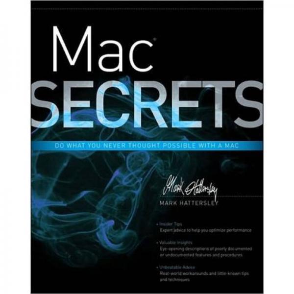 Mac Secrets[解密媒体存取控制器(丛书)]