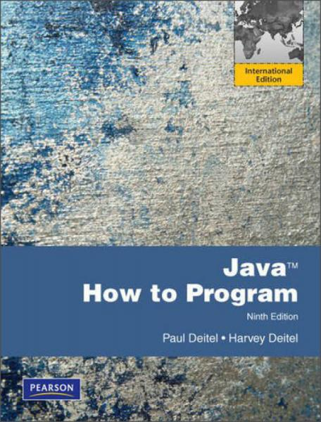 JavaHowtoProgram,InternationalEdition