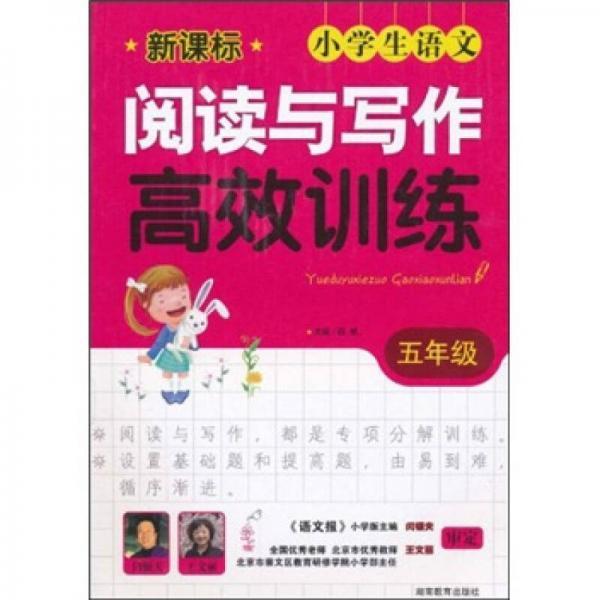 新课标小学生语文阅读与写作高效训练:5年级
