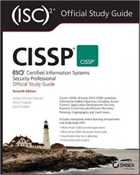 Cissp: Certified Information Systems Security Professional Study Guide, Seventh Edition