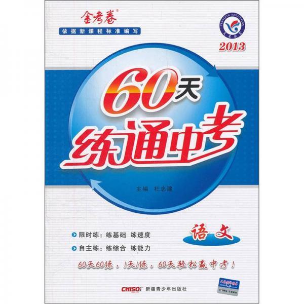60天练通中考:语文(2013金考卷)