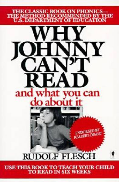 Why Johnny Cant Read?[为什么强尼不识字?]