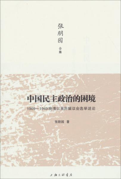 中国民主政治的困境