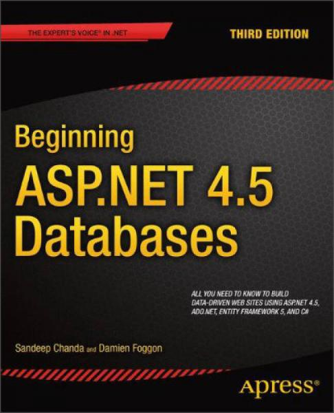Beginning ASP.NET 4.5 Databases, 3rd Edition (The Experts Voice in .Net)