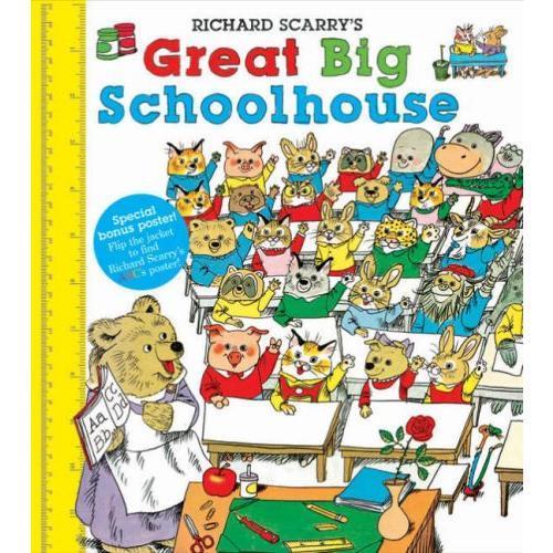 Great Big Schoolhouse 斯凯瑞童书:上学一二三 ISBN 9780007935260