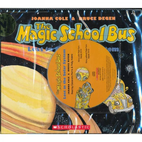 The Magic School Bus: Lost in the Solar System   Audio CD  神奇校车系列:迷失太阳系 CD