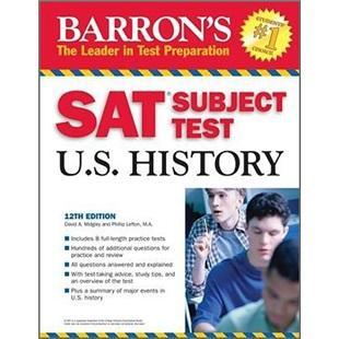 BarronsSATSubjectTestU.S.History