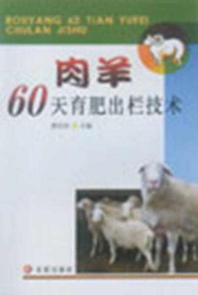 肉羊60天育肥出栏技术