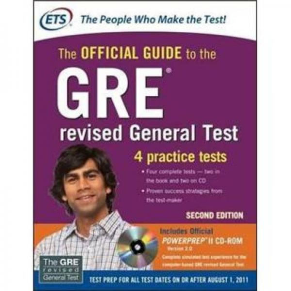 GRE The Official Guide to the Revised General Test with CD-ROM, Second EditionGRE��璇�瀹��规����锛�绗�2��