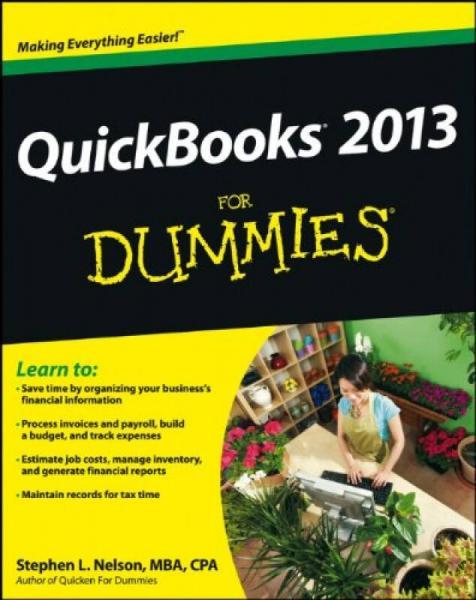 Quickbooks 2013 For Dummies[QuickBooks傻瓜书]