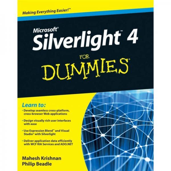 Microsoft Silverlight 4 for Dummies  傻瓜书-Microsoft Silverlight 4